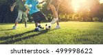soccer football field father... | Shutterstock . vector #499998622