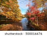 amazing foliage upstate new... | Shutterstock . vector #500016676