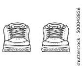 vector sketch illustration  ... | Shutterstock .eps vector #500043826