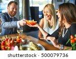 business people meeting in...   Shutterstock . vector #500079736