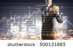 new technologies for business . ... | Shutterstock . vector #500131885