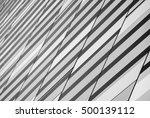 black and white presentation of ... | Shutterstock . vector #500139112