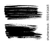 set of vector grunge background.... | Shutterstock .eps vector #500141665