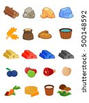 vector icon set for 2d games ...
