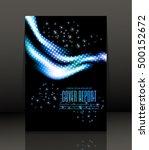 template design for cover.... | Shutterstock .eps vector #500152672