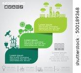 nature  infographics design... | Shutterstock .eps vector #500189368