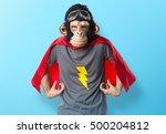 Superhero Monkey Man  Over...