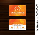 business or visiting card...