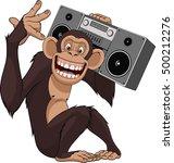 vector illustration  funny... | Shutterstock .eps vector #500212276