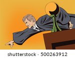 stock illustration. people in... | Shutterstock .eps vector #500263912