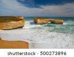the london arch  great ocean...   Shutterstock . vector #500273896
