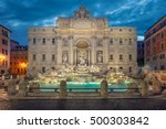 trevi fountain  rome. image of... | Shutterstock . vector #500303842