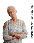 Confident Mature Woman With...