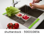 fresh vegetables | Shutterstock . vector #500310856