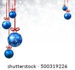 new year shining background... | Shutterstock .eps vector #500319226