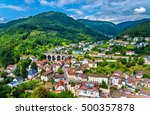 view of hornberg village in... | Shutterstock . vector #500357878