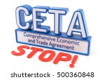 ceta   comprehensive economic... | Shutterstock . vector #500360848