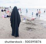 Beautiful Muslim Woman On The...