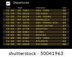 Departure Board   Destination...