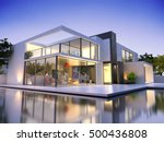 realistic 3d rendering of a... | Shutterstock . vector #500436808