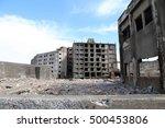 gunkanjima   battleship island... | Shutterstock . vector #500453806