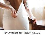 Yong Bride Wears Her Wedding...