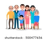 vector illustration of a... | Shutterstock .eps vector #500477656