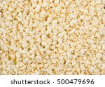 scattered salted popcorn  food... | Shutterstock . vector #500479696