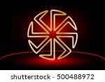 symbol kolovrat  kolovrat   a... | Shutterstock .eps vector #500488972