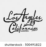 california  hand drawing   t... | Shutterstock .eps vector #500491822