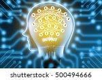 deep learning   machine...   Shutterstock . vector #500494666