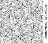 vector illustration of abstract ... | Shutterstock .eps vector #500499358