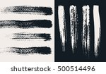 vector set of hand drawn grunge ... | Shutterstock .eps vector #500514496