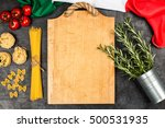 italian food ingredients | Shutterstock . vector #500531935