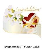 wedding or matrimony  christian ... | Shutterstock .eps vector #500543866