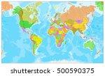 highly detailed physical world... | Shutterstock .eps vector #500590375