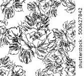 abstract elegance seamless... | Shutterstock .eps vector #500627842