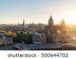 Amsterdam Skyline In Historica...