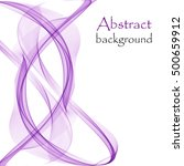 abstract background with purple ... | Shutterstock .eps vector #500659912