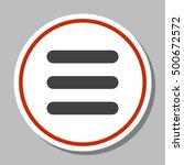expand menu icon vector