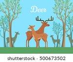 Funny Pair Of Deer On...