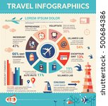 travel infographics   info... | Shutterstock . vector #500684386