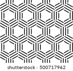 abstract geometric hipster... | Shutterstock .eps vector #500717962