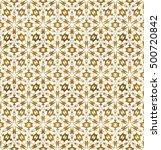 traditional arabesque seamless... | Shutterstock .eps vector #500720842