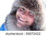 beautiful young girl smiles in... | Shutterstock . vector #50072422