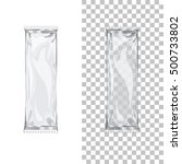 set of plastic packagings for... | Shutterstock .eps vector #500733802