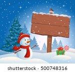 vector cartoon illustration of... | Shutterstock .eps vector #500748316