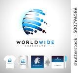 sphere logo  creative  sphere... | Shutterstock .eps vector #500796586