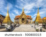 wat phra kaew  temple of the... | Shutterstock . vector #500800315