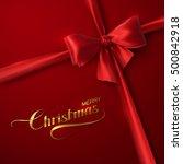 holiday vector illustration of... | Shutterstock .eps vector #500842918